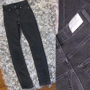 Like New Cheap Monday Gray Skinny Jeans